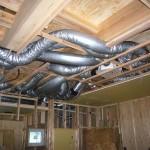 全館空調システムの配管が家全体の快適性能を実現します