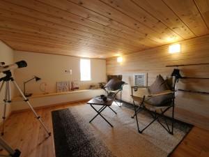 趣味の部屋や収納に最適なロフト