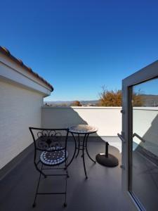 スカイバルコニーからの眺めは絶景